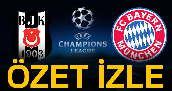 BJK BAYERN ÖZET İZLE: Beşiktaş Bayern Münih Maçı özeti ve golleri | Beşiktaş Bayern özet izle
