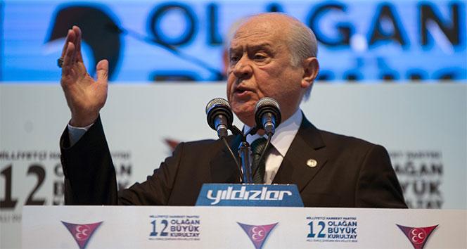 MHP Genel Başkanı Bahçeli'den Münbiç açıklaması