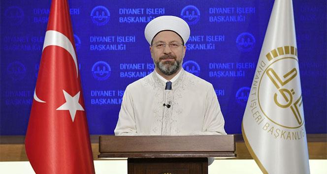 Diyanet İşleri Başkanı Erbaş: 'Kur'an-ı Kerim bizim en önemli değerimizdir'