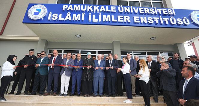 Türkiye'nin ilk İslami İlimler Enstitüsü hizmete açıldı