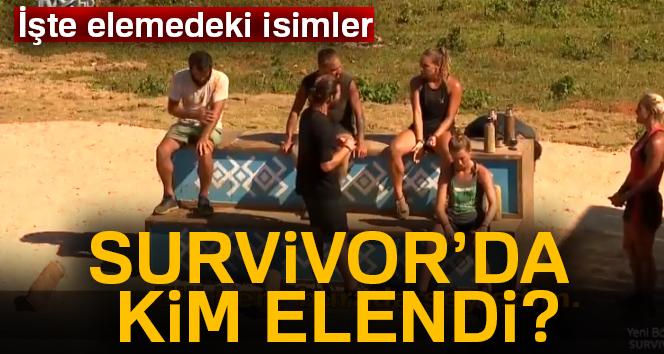 Survivor'da elemeye çıkan isimler kim oldu? Survivor kim elendi | 14 nisan survivor eleme