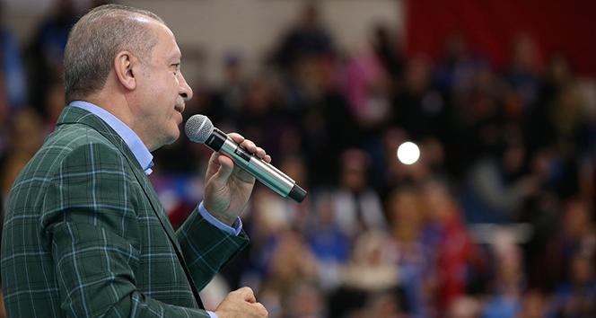 Erdoğan'dan ABD ve Avrupa'ya gönderme