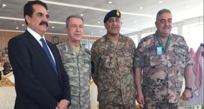 Genelkurmay Başkanı Akar'ın Suudi Arabistan ziyareti