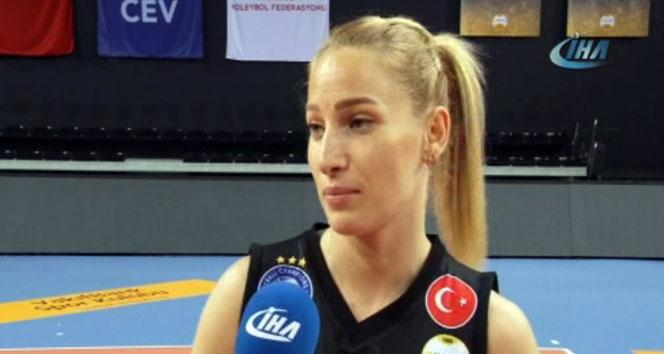 Gizem Örge: 'Finalde 2 Türk takımı olmasını isterim'
