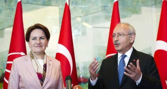 Kılıçdaroğlu ve Akşener bu akşam bir araya gelecek