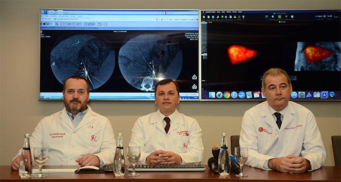 Karaciğer kanserinde umut veren uygulama Türkiye'de