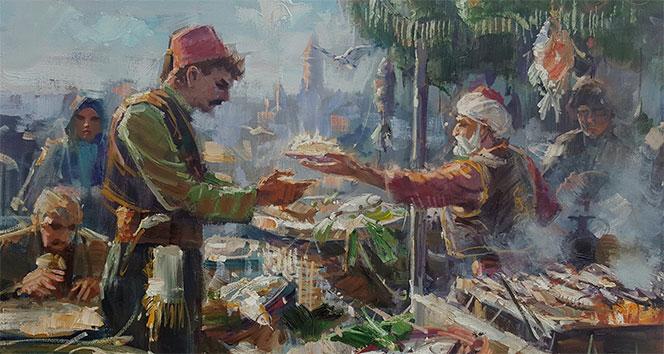 Ünlü ressam Remzi Taşkıran'ın 35 tabloluk 'İstanbul ve Anadolu Resimleri' sergisi Ankara'da