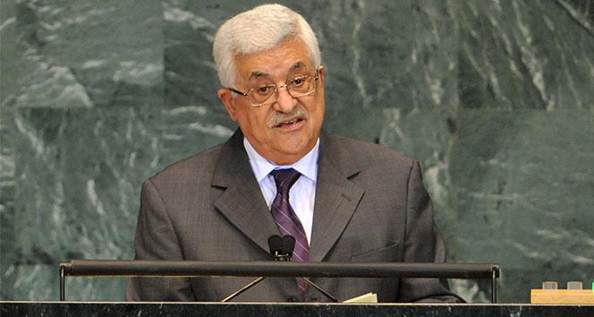 Filistin Devlet Başkanı Abbas: Barışçıl mücadeleden vazgeçmeyeceğiz