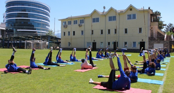Karabükspor'da Trabzonspor hazırlıkları başladı