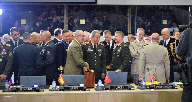 Genelkurmay Başkanı Akar, NATO Askeri Komite Genelkurmay Başkanları toplantısına katıldı