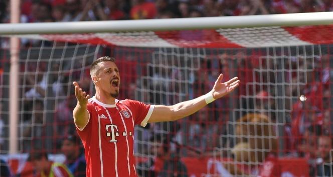 Sandro Wagner milli takımı bıraktı