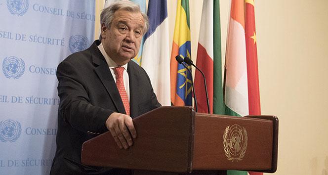 BM Genel Sekreteri Guterres: 'Uluslararası güvenlik risk altında'