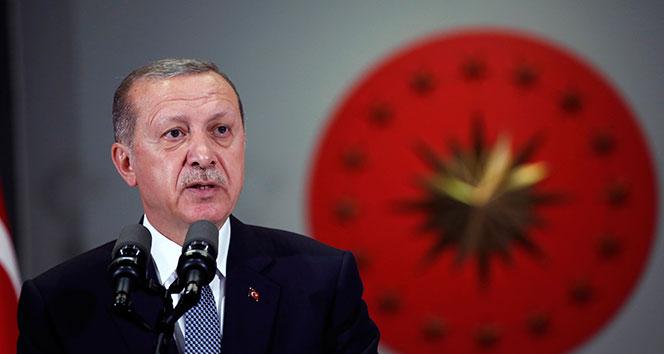 Cumhurbaşkanı Erdoğan, BM Genel Merkezi'ne giriş yaptı