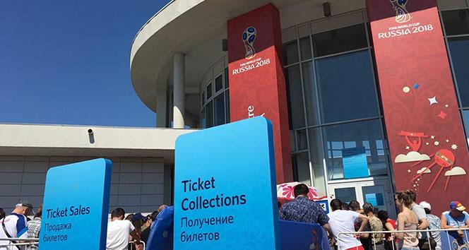 Dünya kupası biletlerini alan ülke taraftarları açıklandı