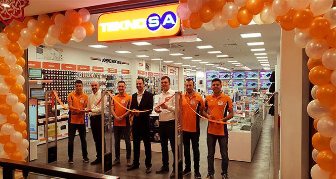 Teknosa'dan Karadeniz Ereğli'ye yeni mağaza