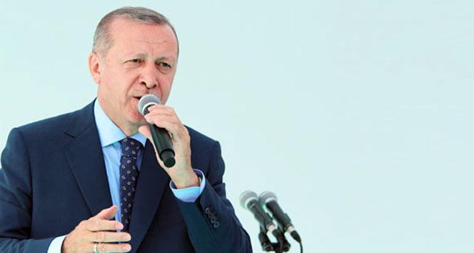 Cumhurbaşkanı Erdoğan: 'FETÖ'cülere bu meydanları dar ettiysek, yine dar ederiz'