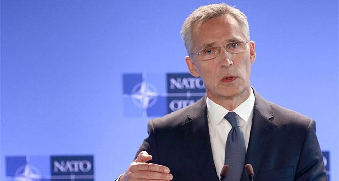 Stoltenberg: 'Türkiye ve ABD'nin Suriye'nin kuzeyindeki işbirliklerinden dolayı memnunum'