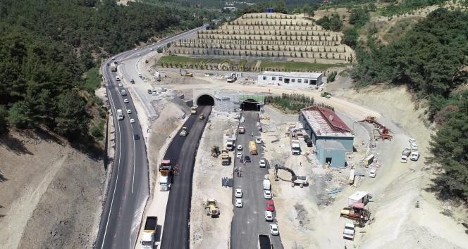 Sabuncubeli Tüneli yarın açılıyor