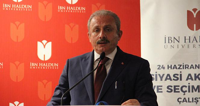 Şentop: 'Muharrem İnce'nin adaylığı CHP'nin içindeki başkanlık yarışıyla ilgili bir mesele'