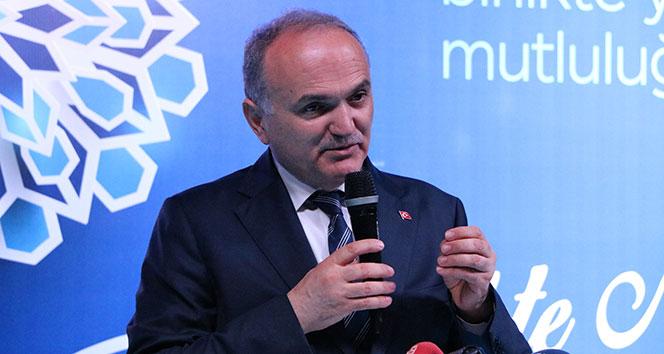 Bakan Özlü: 'Türkiye'nin tek açığı var orada teknoloji açığıdır'