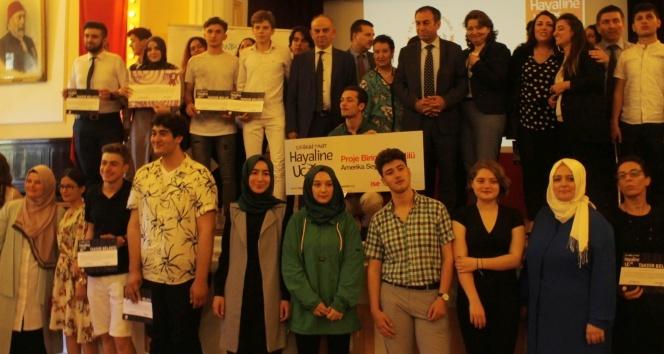 İstanbul'dan Amerika'ya, hayallerine uçacak öğrenciler belli oldu