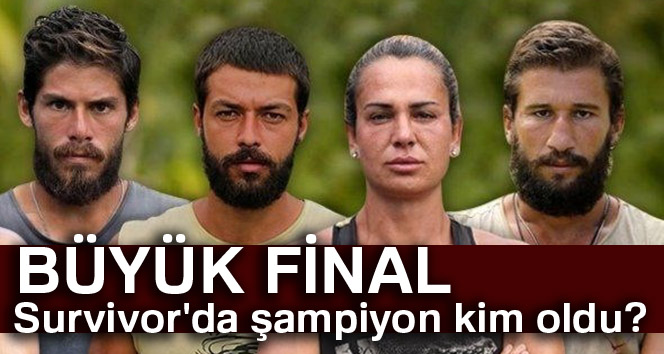 Survivor'da şampiyon Kim oldu? |Survivor 2018 birincisi Kim? Survivor Kim ELENDİ, Kim GİTTİ?
