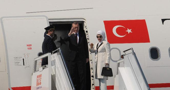 Başkan Erdoğan Brüksel'e gitti