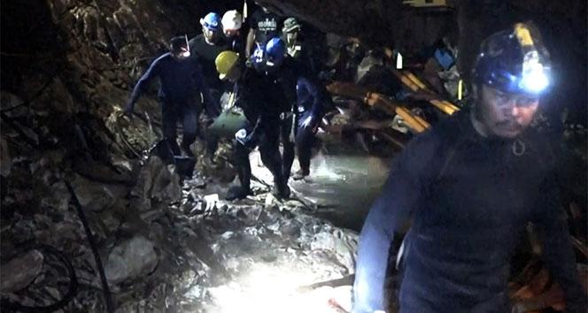 Taylandlı çocukların kurtarılma anının görüntüleri yayınlandı