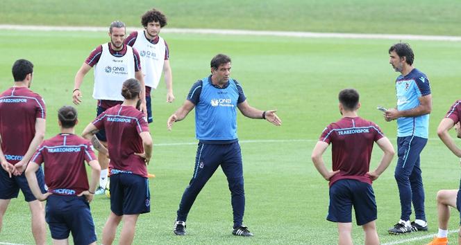 Trabzonspor'dan taktik ağırlılı çalışma