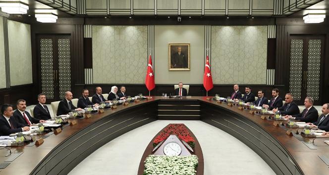 Cumhurbaşkanlığı kabine toplantısı başladı