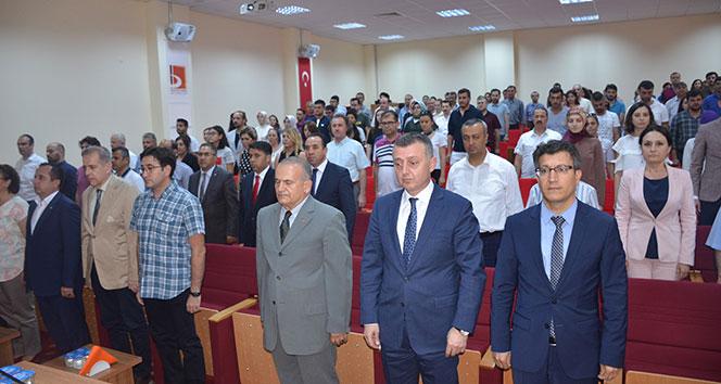 'Türkiye'de Darbe Geleneği ve 15 Temmuz' konulu konferans düzenlendi