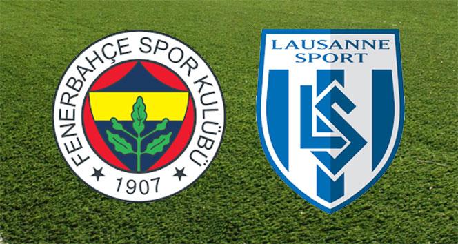 ÖZET İZLE: Fenerbahçe 1-2 Lozan maçı özeti ve golleri izle   FB, Lozan maçı kaç kaç bitti