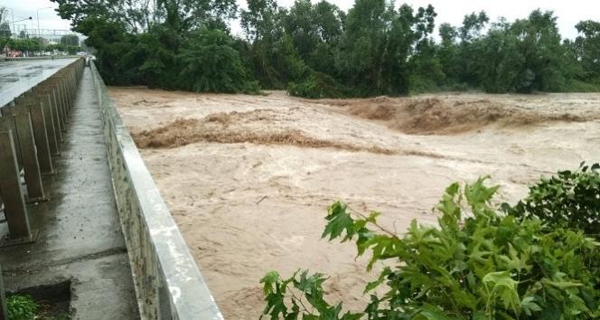 Ordu'da sel suları köprüyü yıktı, mahsur kalanlar var