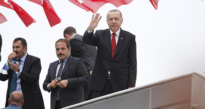 Erdoğan'dan ABD'ye Brunson eleştirisi