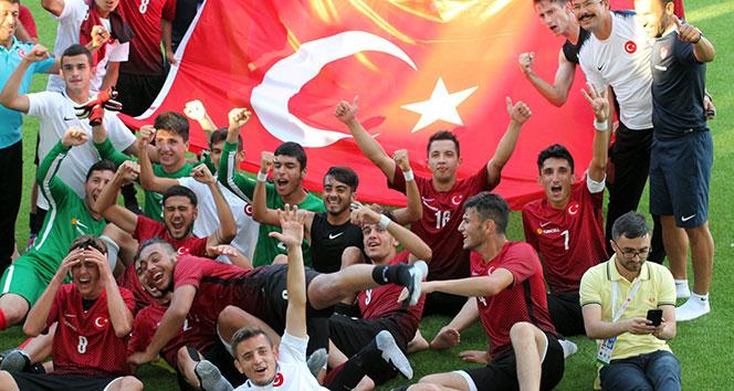 Son dakika... U21 İşitme Engelli Futbol Milli Takımı, Avrupa şampiyonu