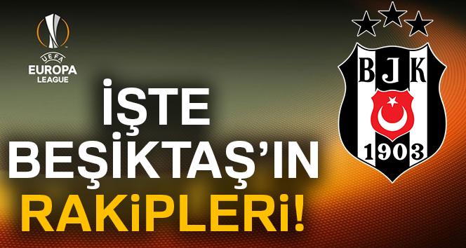UEFA I grubu kura sonuçları |Beşiktaşın RAKİPLERİ kim OLdu? Beşiktaş UEFA kura SONUÇLARI