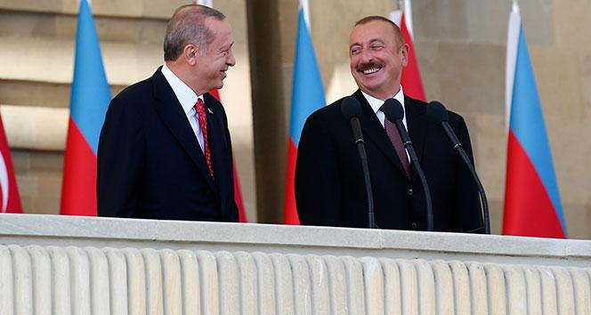 Cumhurbaşkanı Erdoğan: 'Türkiye ve Azerbaycan kemik kardeştir'