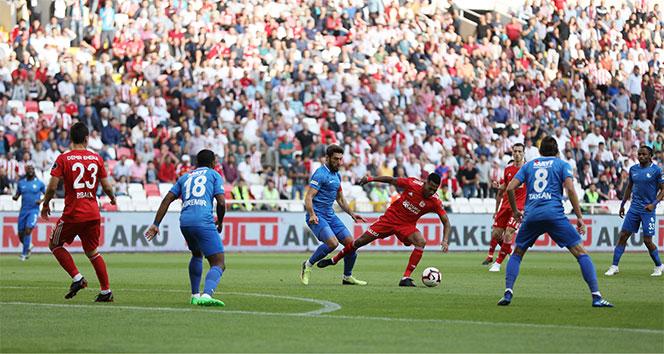 Sivasspor 2-2 Erzurumspor Maçı Özeti ve Golleri İzle | Sivasspor Erzurumspor kaç kaç bitti?
