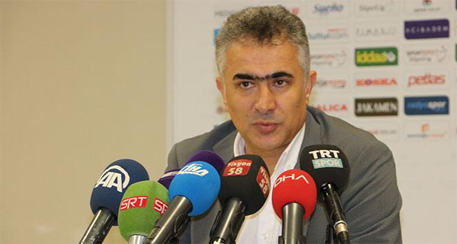 Mehmet Altıparmak: 'Deplasmanda kazanılan bir puan iyi'