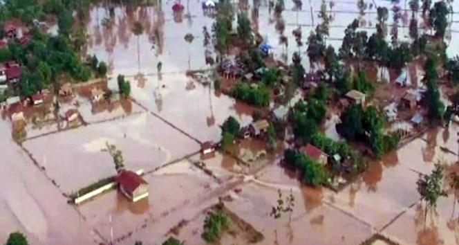 Laos'da tropikal fırtına: 55 ölü, 100 kişi kayıp