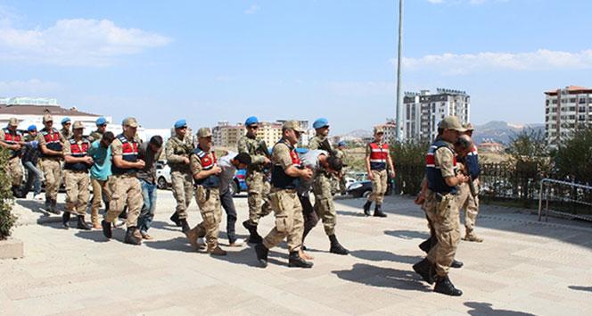 Şehitlerimizin naaşını kaçıran teröristler tutuklanarak Hatay Cezaevine gönderildi