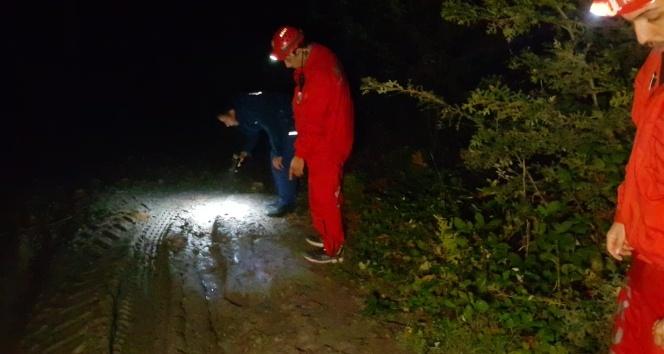 Ormanda kayboldu, ekipler saatlerdir onu arıyor