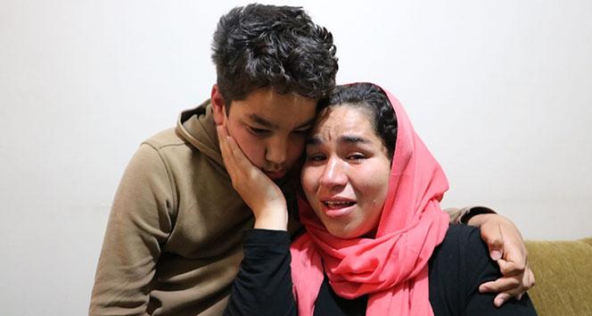 Annesinin haber alamadığı Afgan çocuk evde uyurken bulundu