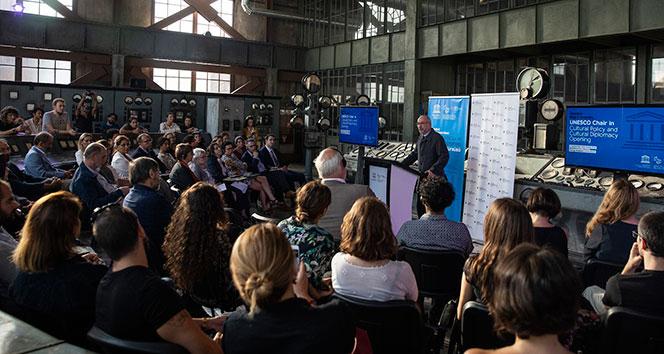 Bilgi Kültür Politikası ve Kültürel Diplomasi UNESCO Kürsüsü açıldı