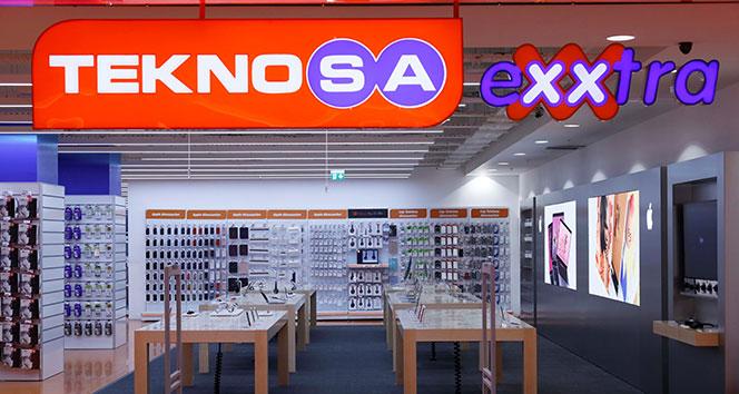 Türkiye'nin en büyük Apple Shop'u Teknosa'da açıldı