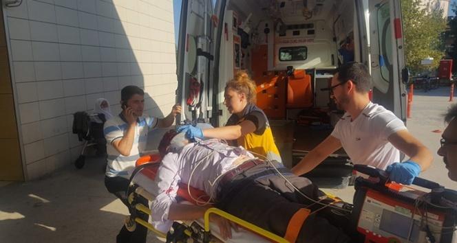 Ambulansın çarptığı yaşlı adam hayatını kaybetti