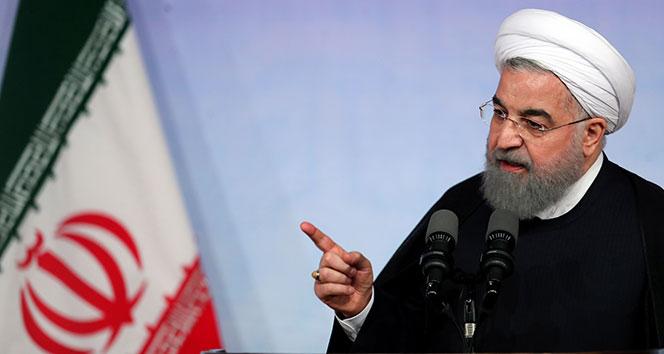 İran Cumhurbaşkanı Ruhani, ABD ve Körfez ülkelerini suçladı