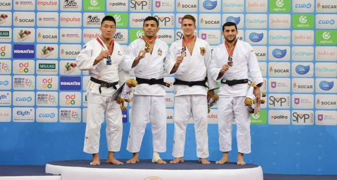 Dünya Judo Şampiyonası'nda Vedat Albayrak bronz madalya kazandı