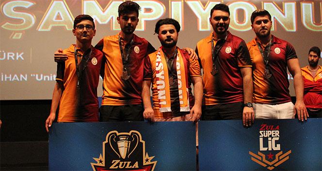 Zula Süper Lig'inin şampiyonu Galatasaray Espor