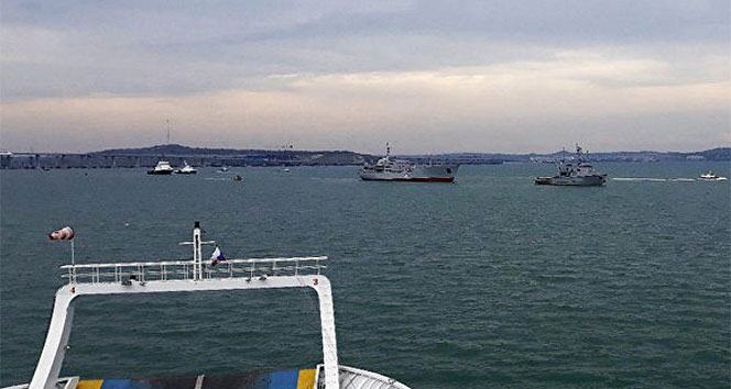 Ukrayna: 'Rus gemi ve uçakları, gemilerimizi taciz etti'